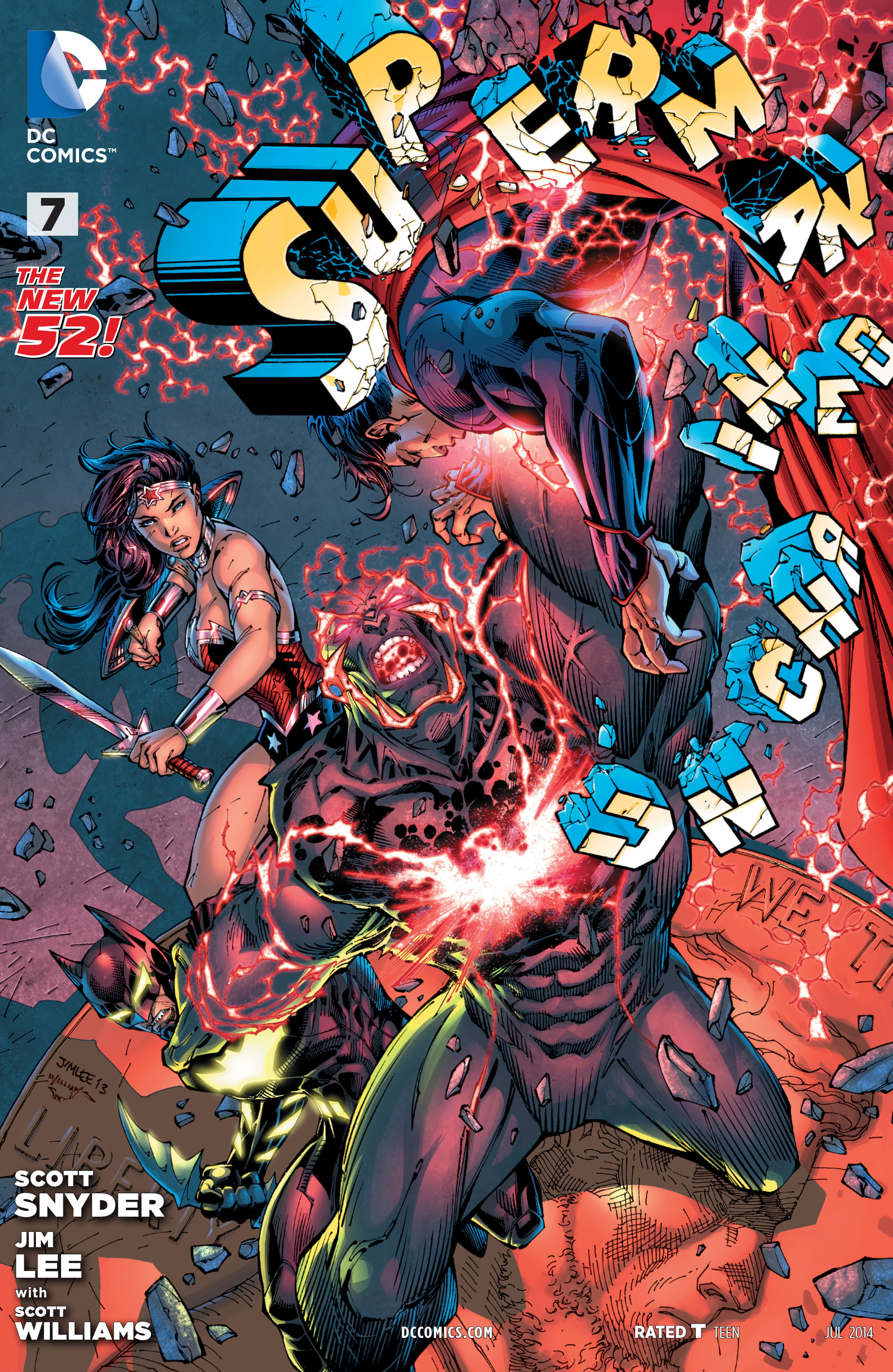 SUPERMAN UNCHAINED #7 - cover