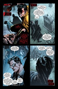 Secret Origins 5 - Red Hood - Bruce and Jason in a graveyard