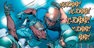 Secret Origins 5 - Cyborg - Victor plays football
