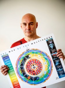 Grant Morrison holds the map of the Multiverse.