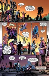 Astro City 14 - Ellie's nephew Frank meets the robots