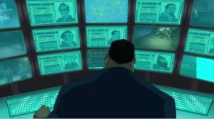Batman: Assault on Arkham - Amanda Waller at the command screen