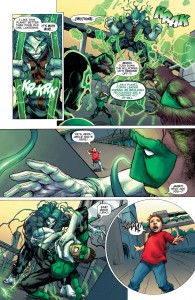 GREEN LANTERN #34 - Agarushnawokliag breaks free from containment