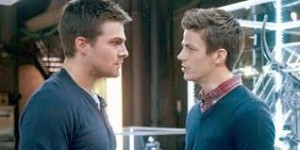 Oliver Queen and Barry Allen