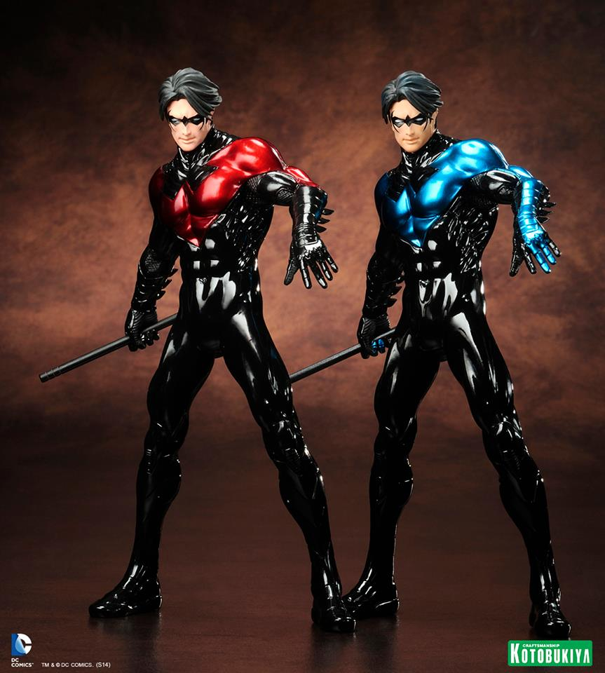 Nightwing Red/ Nightwing Blue