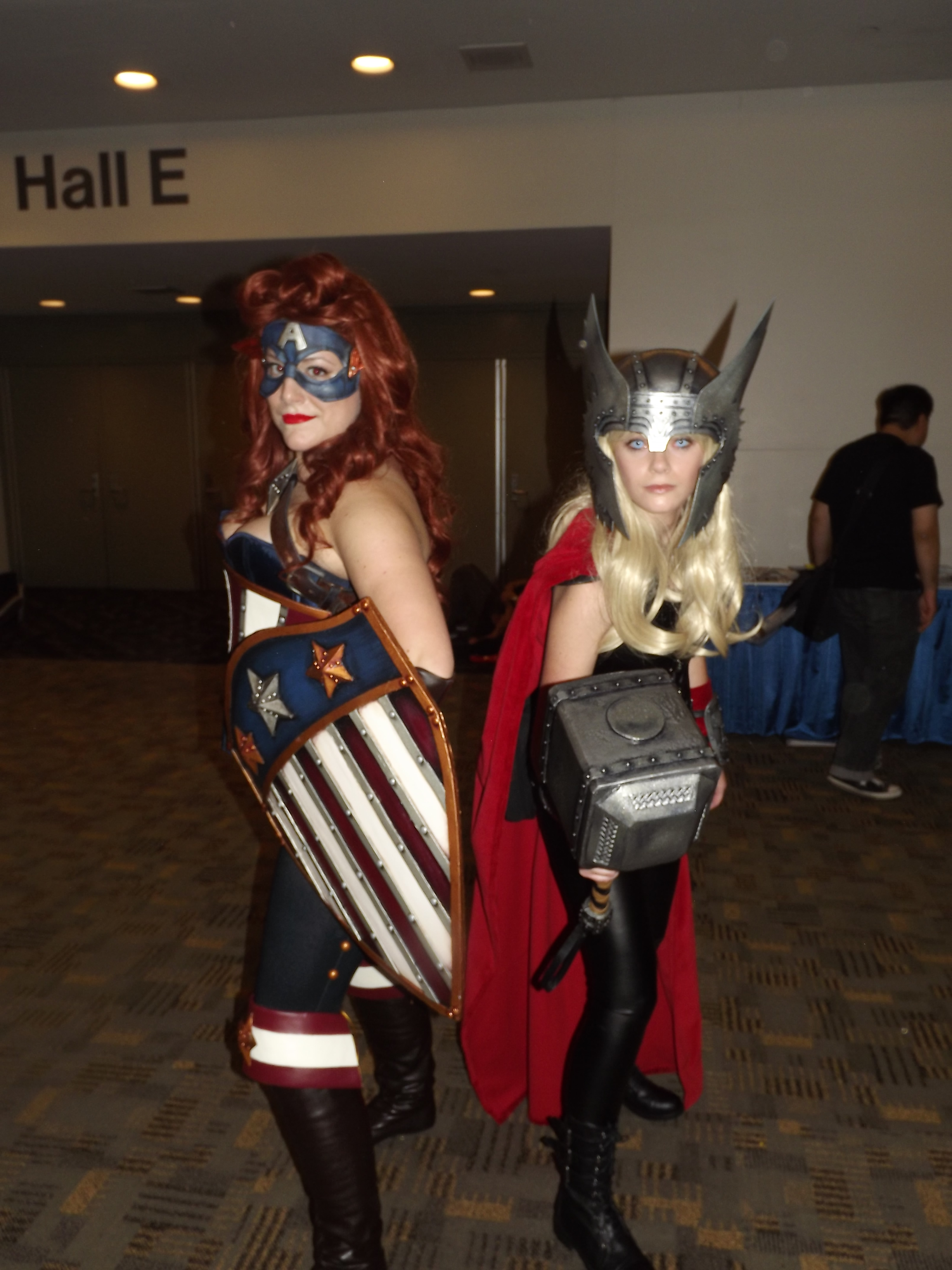 Captain America and Thor Rule 63