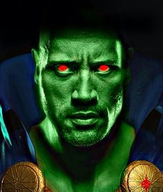 The Rock as MMH