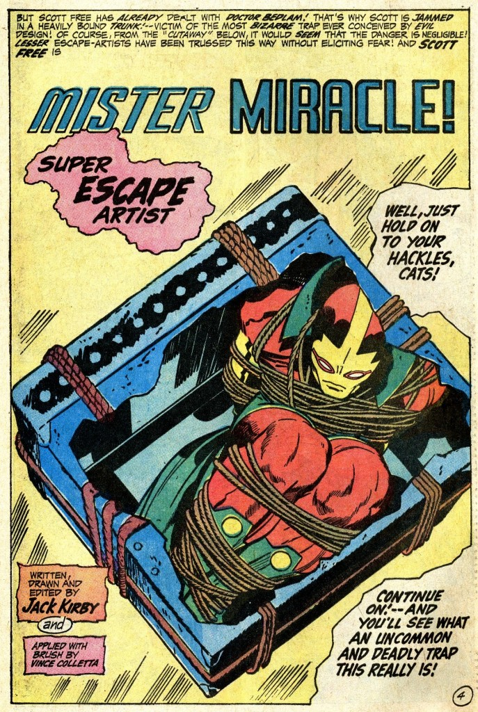 Kirby Mister Miracle