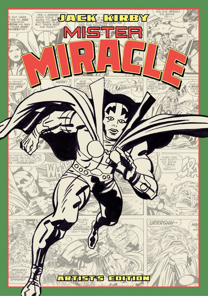 Kirby Mister Miracle Artist Edition