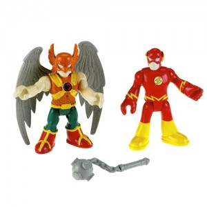 Imaginext Hawkman and Flash