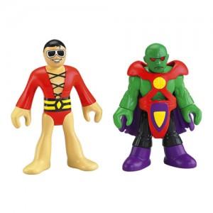 Plastic man and Martian Manhunter