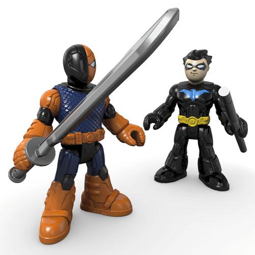 Deathstroke and Nightwing by Imaginext