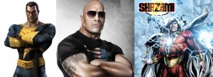 The Rock to play either Shazam or Black Adam
