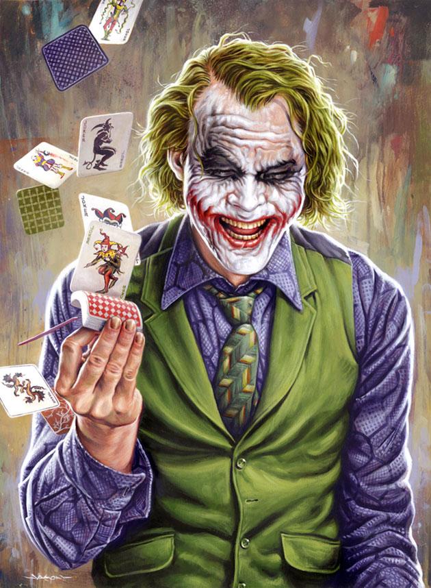 The Dark Knight's Joker by Jason Edmiston