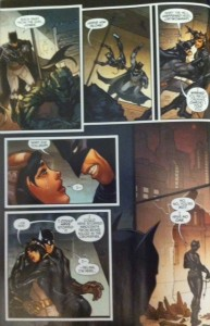 Batman Eternal 28 Selina rejecting Bruce