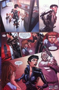 Batman Eternal 27 Bad time for Selina
