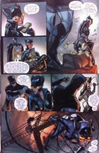 Batman Eternal 27 Bat and Cat talk