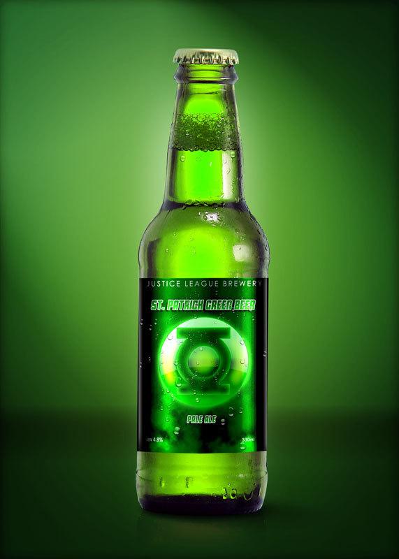 St. Patrick Green Beer