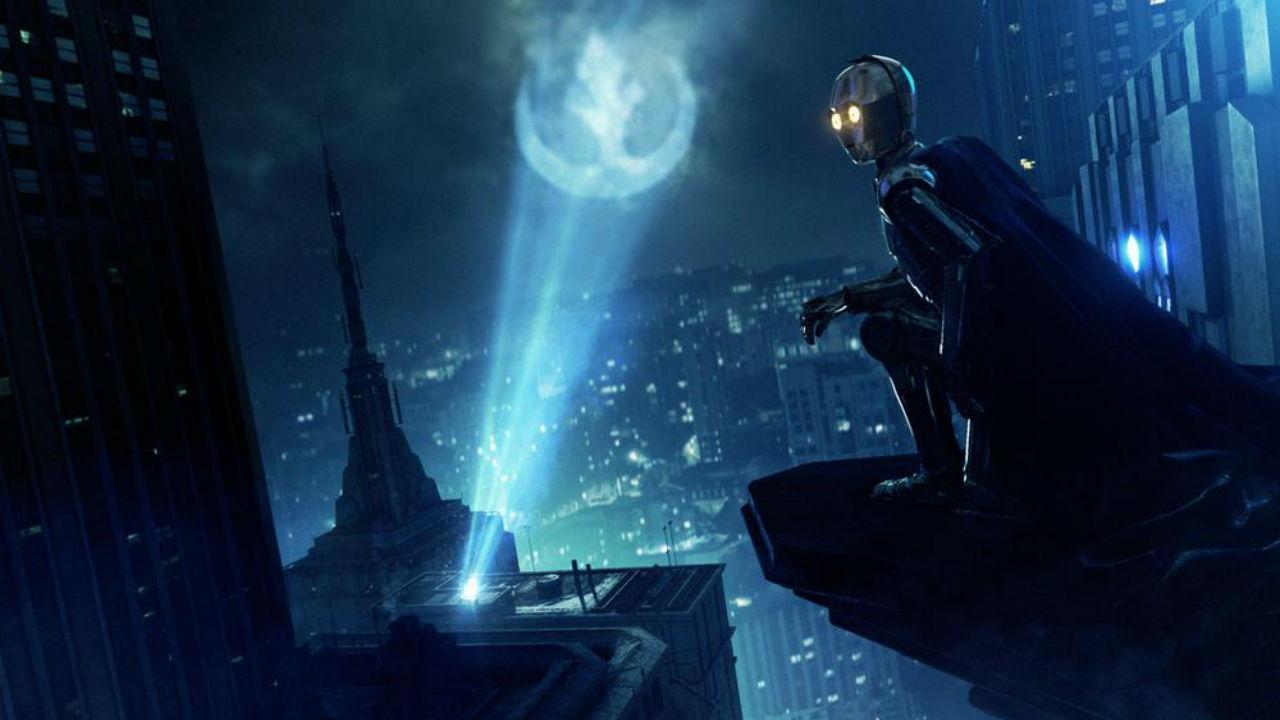 C3PO protecting Gotham