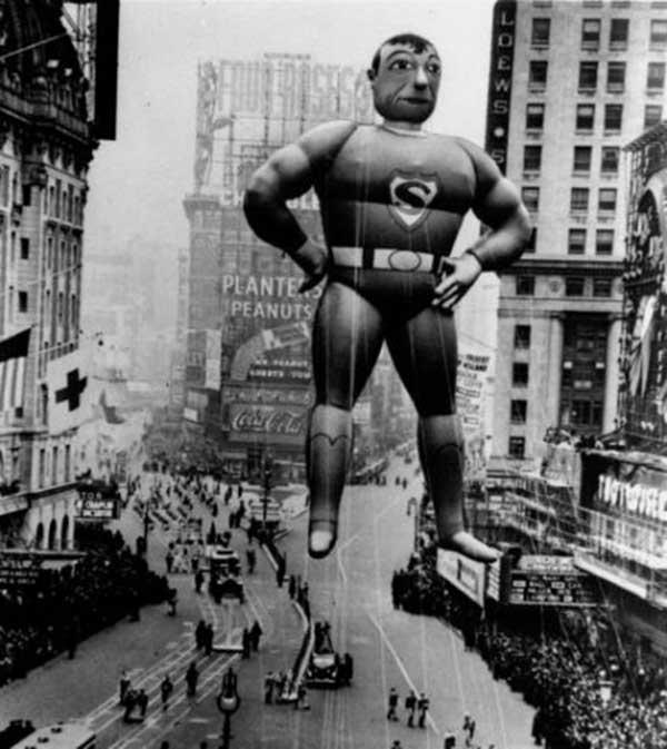 1939 Superman balloon