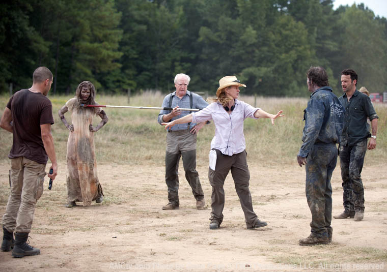 MacLaren on Set: The Walking Dead