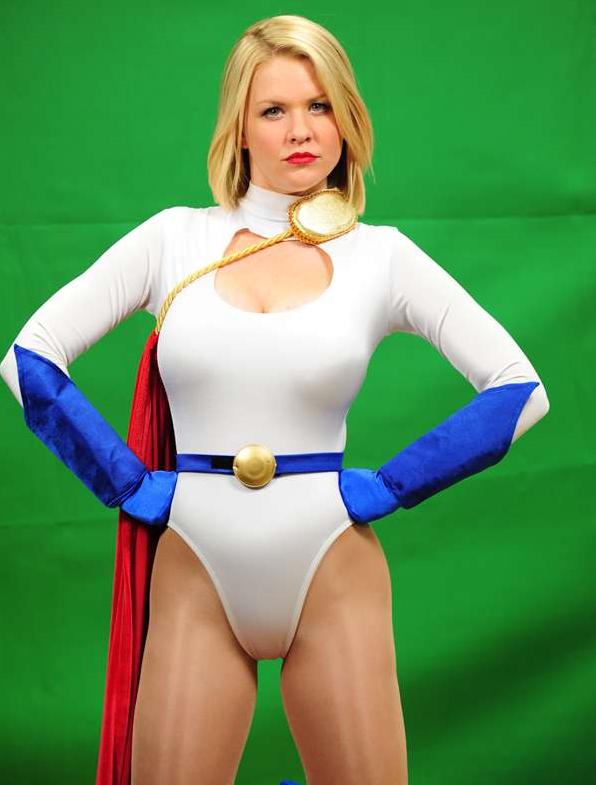 Carrie Keagan Power Girl