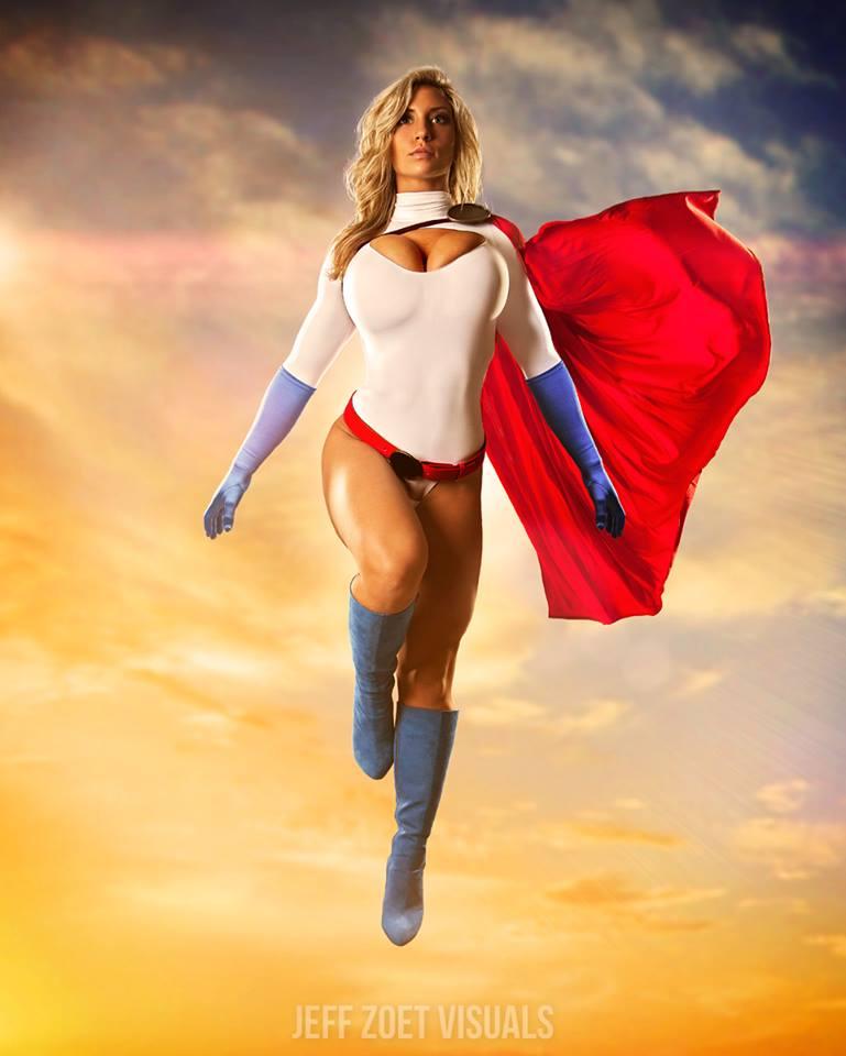 Alyssa Loughran Power girl