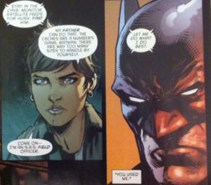 Batman Eternal 33 Batman and Julia