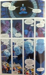 Pax Americana Captain Atom Reads comic