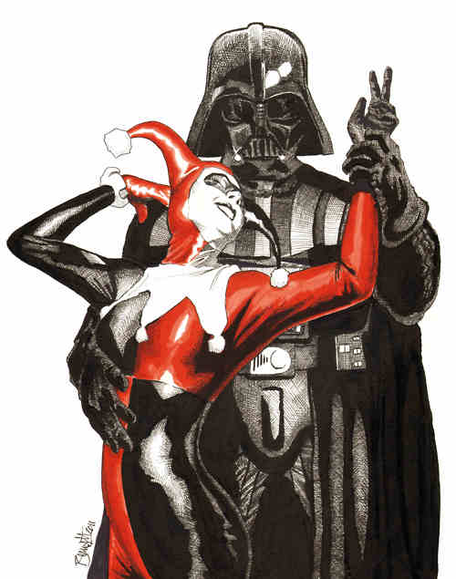 Harley/Vader by Jerry Bennett