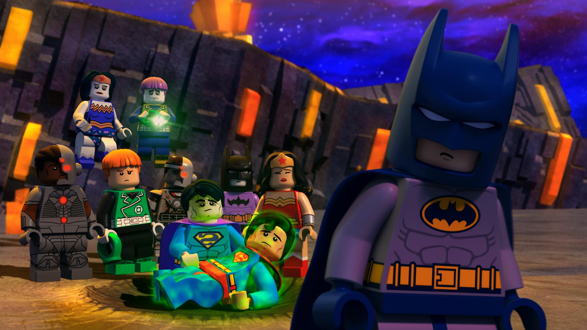 Justice League vs Bizarro League