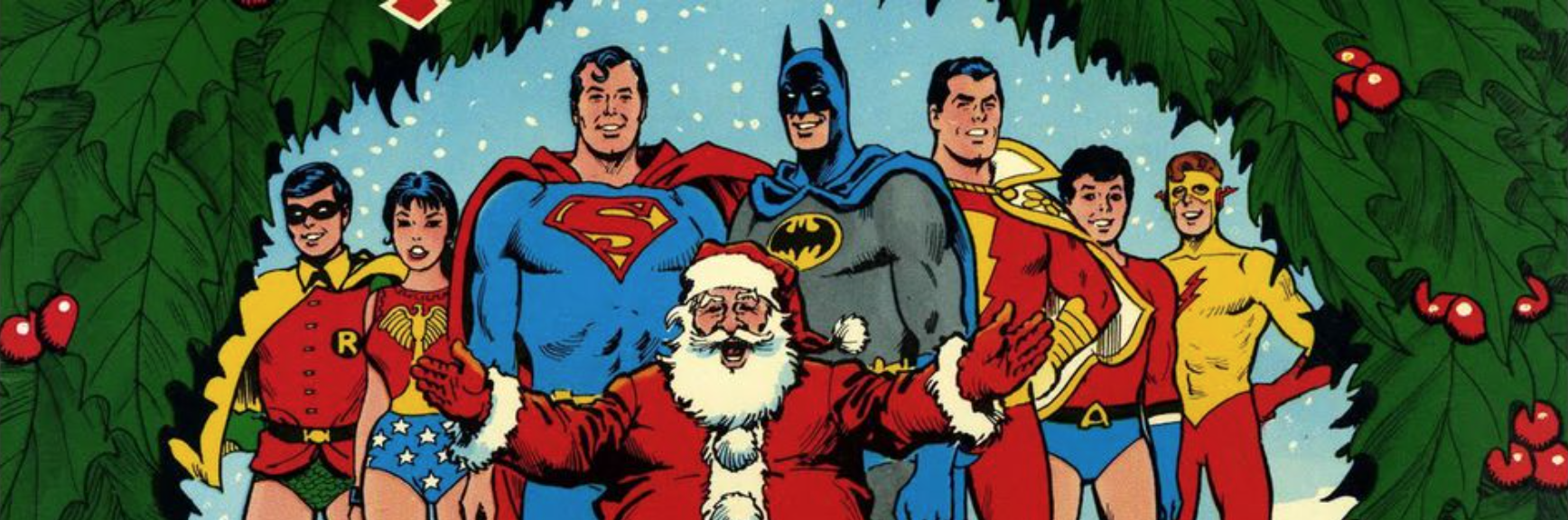 Retro-Review Christmas Edition: Christmas with the Super-Heroes | DC ...