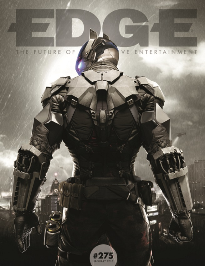 Batman Arkham Knight edge cover 1