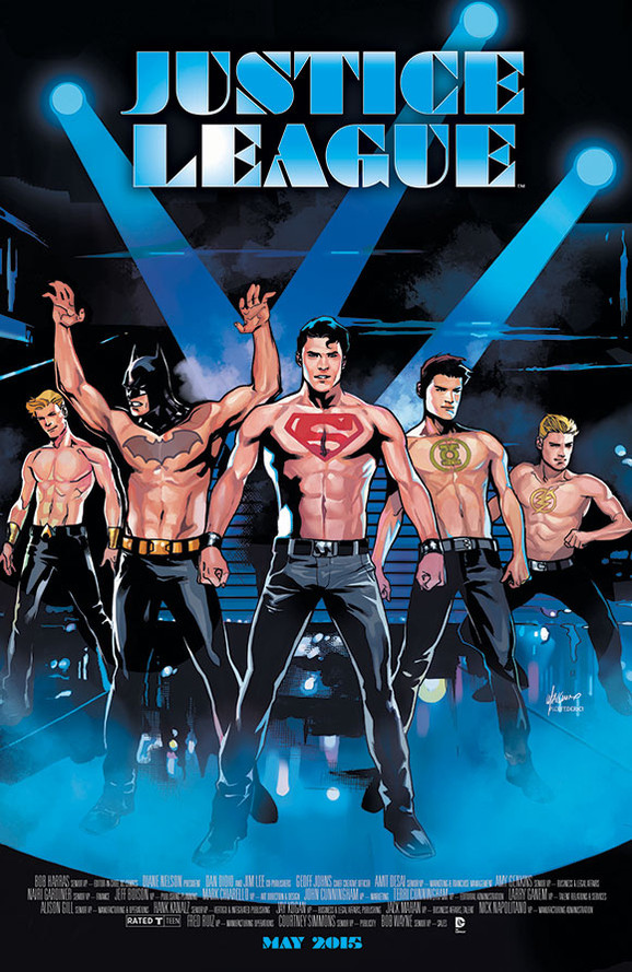 Justice League/Magic Mike