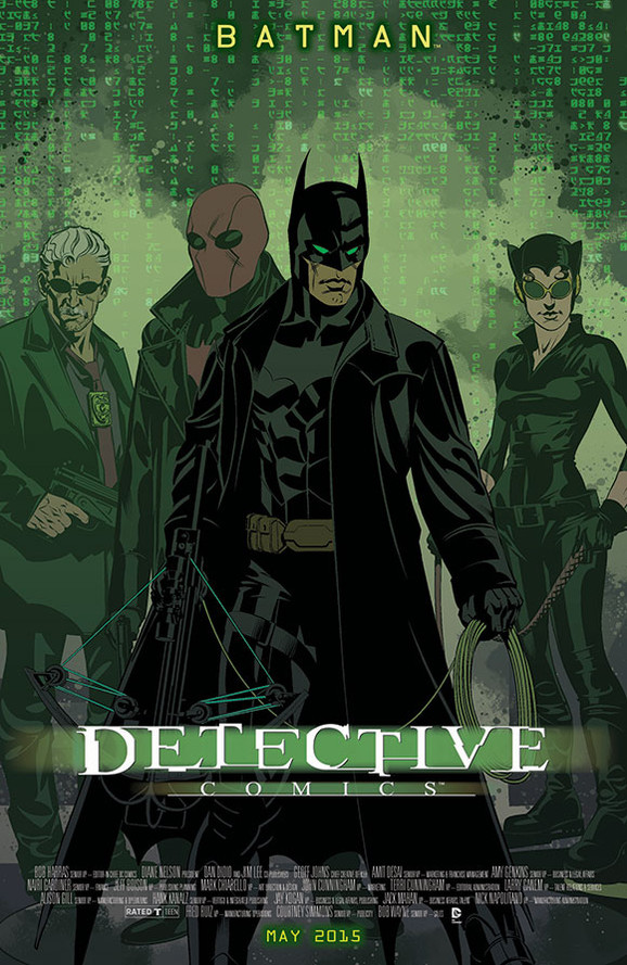 Detective Comics/The Matrix