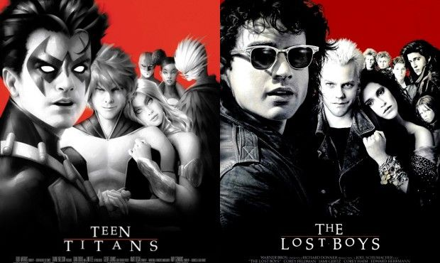 Teen Titans/The Lost Boys