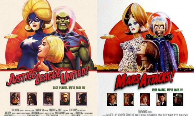 JLU/Mars Attacks