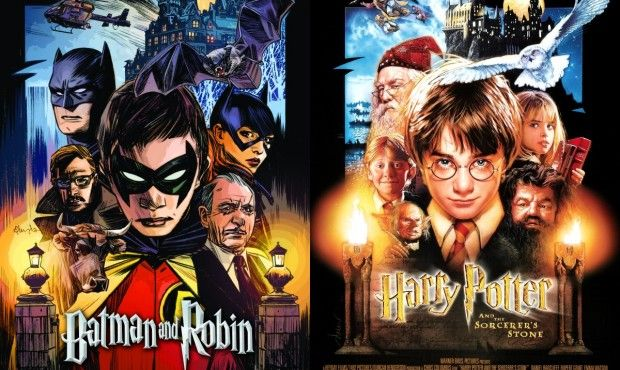 Batman and Robin/Harry Potter