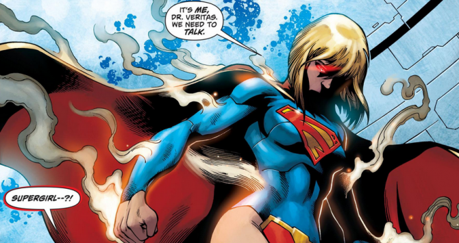 Supergirl is super badass!