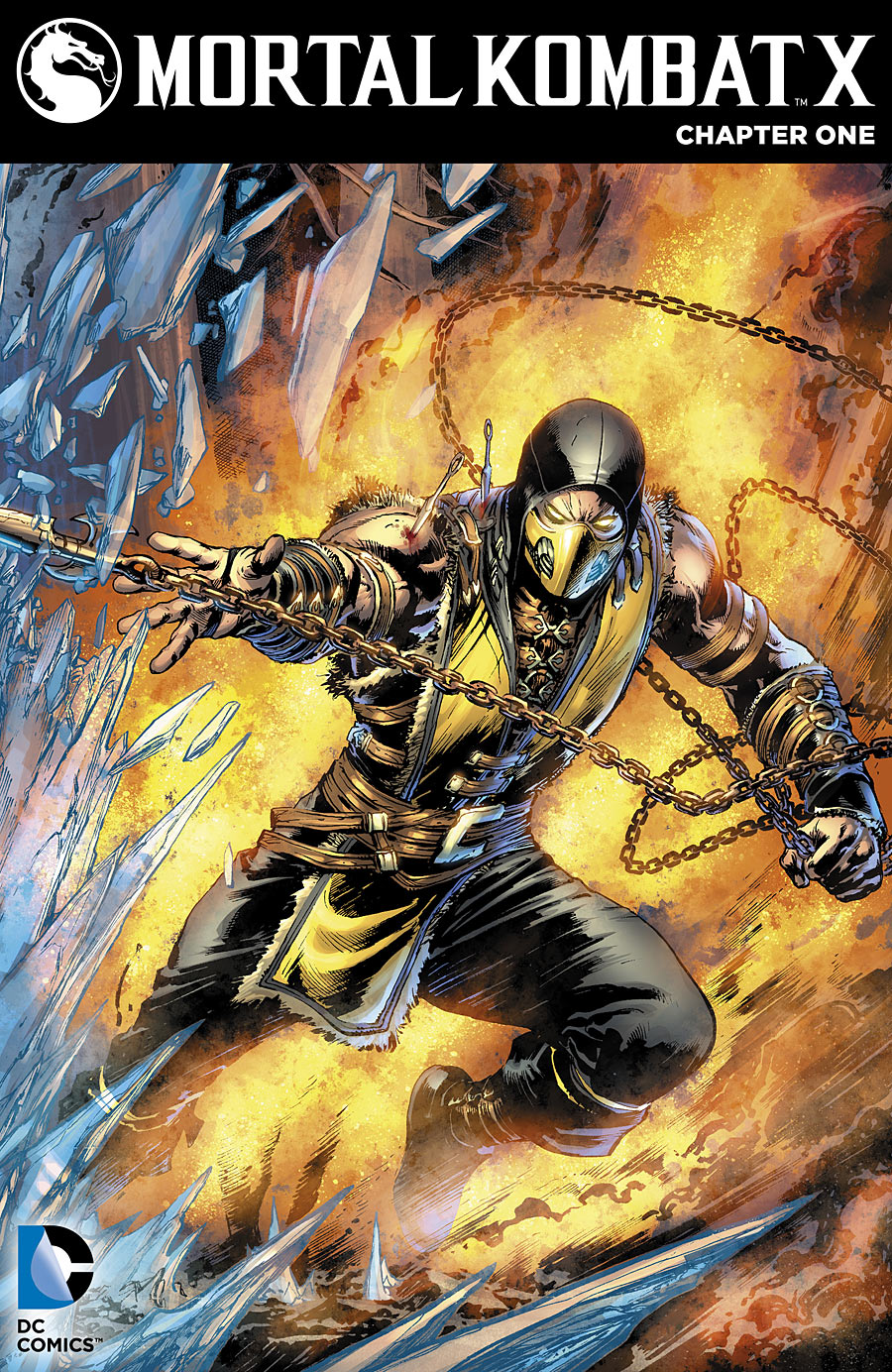 Cover from 'Mortal Kombat X'