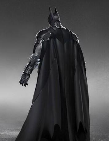 Batman Arkham Knight Batsuit cape view