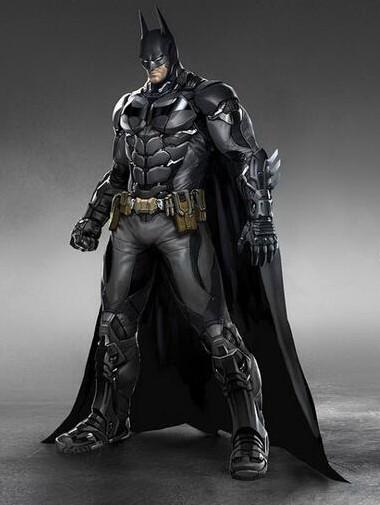 Batman Arkham knight Batsuit front view