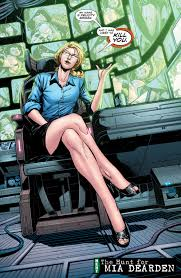 Oracle Return Felicity as Oracle in comic