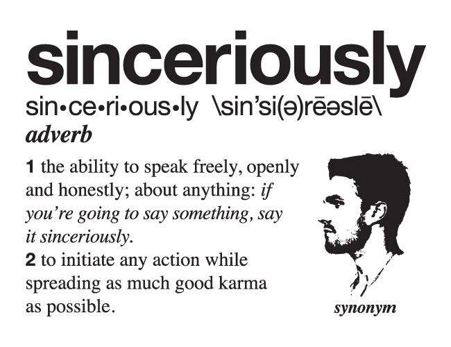 sincerously1