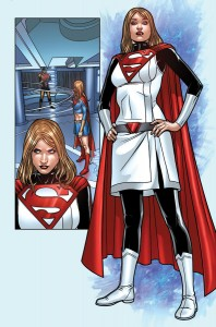 Alura Zor-El, as she appears in the comics