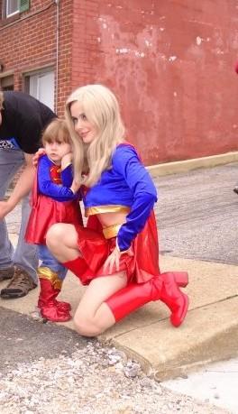 Supergirl at CC on FCBD