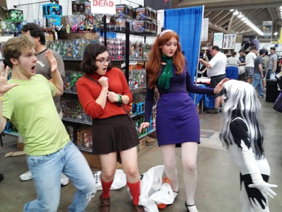 Scooby Doo Crew meets Silver Banshee