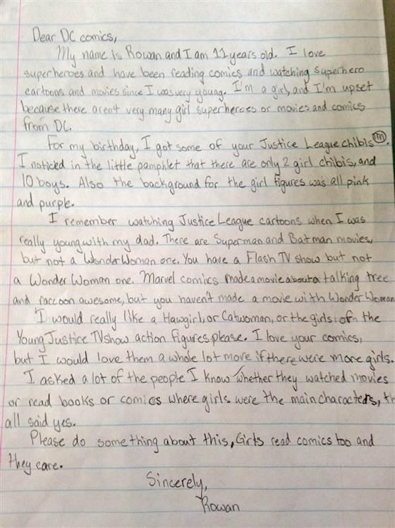 Rowan's Letter
