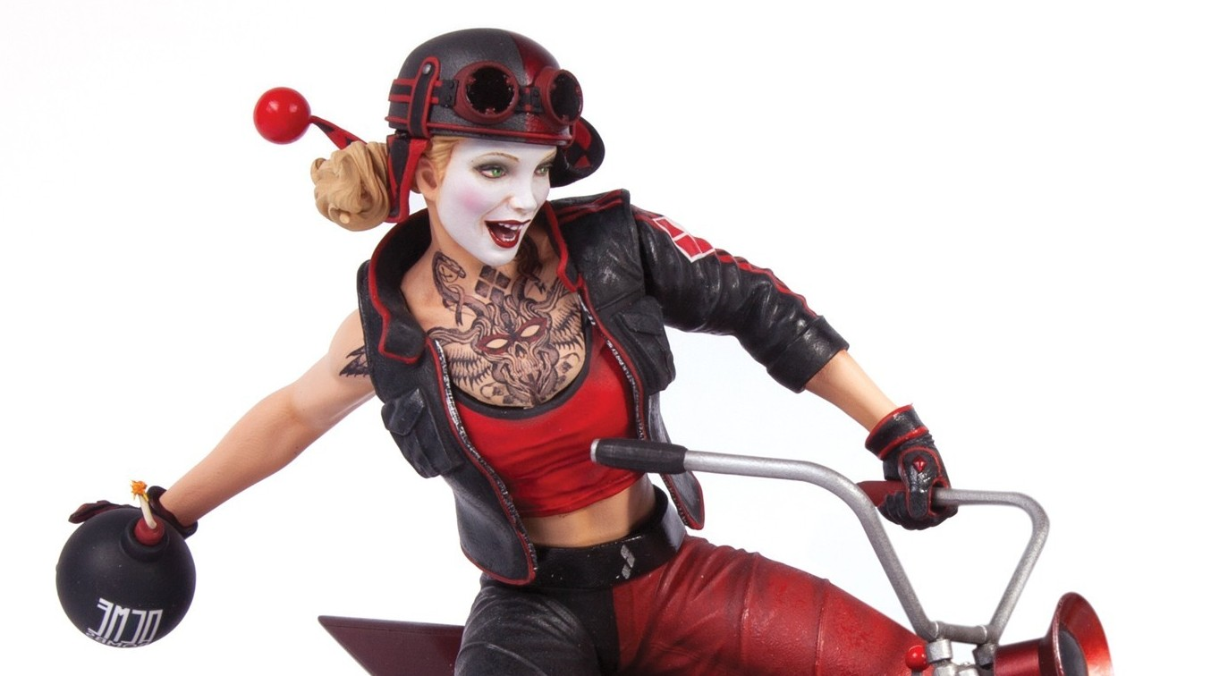 harley quinn collectibles revealed for 2015 dc comics news. Black Bedroom Furniture Sets. Home Design Ideas