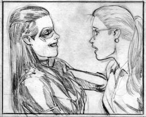 Helena and Felicity